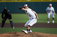 Virginia Tech Hokies relief pitcher Graham Firoved (51) in action against the Georgia Tech Yellow Jackets at English Field on April 17, 2021 in Blacksburg, Virginia. (Brian Westerholt/Four Seam Images)