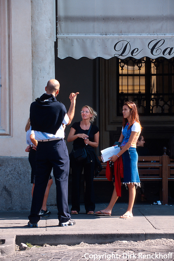 Italien, Piemont, auf der Piazza San Carlo in Turin (Torino)