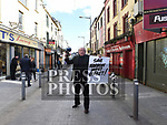 Narrow West St Protest
