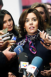 Soraya Sáenz de Santamaría, Vice-President and Minister of the Presidency and for the Territorial Administrations of the Government of Spain visits new factory of Campofrio in Burgos. November 23, 2016.(ALTERPHOTOS/Acero)