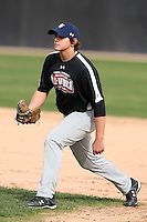 January 16, 2010:  Tanner Watson (Great Falls, MT) of the Baseball Factory Northwest Team during the 2010 Under Armour Pre-Season All-America Tournament at Kino Sports Complex in Tucson, AZ.  Photo By Mike Janes/Four Seam Images