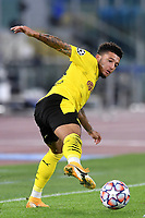 Jadon Sancho of Borussia Dortmund in action during the Champions League Group Stage F day 1 football match between SS Lazio and Borussia Dortmund at Olimpic stadium in Rome (Italy), October, 200 Italy, 2020. Photo Andrea Staccioli / Insidefoto