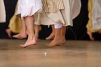 Saut pieds nus