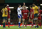 Referee Craig Joubert.<br /> Dove Men Series 2014<br /> Wales v Australia<br /> Millennium Stadium<br /> 08.11.14<br /> ©Steve Pope-SPORTINGWALES
