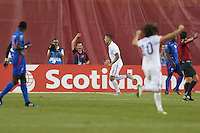Foxborough, Mass. - Friday, July 10, 2015: The US Men's National team goes up 1-0 over Haiti during group play action in the 2015 Gold Cup at Gillette Stadium.