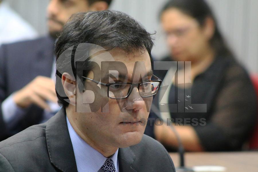 SÃO PAULO, SP, 21.05.2019 - POLITICA-SP - Alex de Madureira, Deputado Estadual PSD/SP (Vice Presidente), durante reunião da Comissão de Saúde da Assembléia Legislativa do Estado de São Paulo, nesta terça-feira, 21. ( Foto Charles Sholl/Brazil Photo Press/Folhapress)