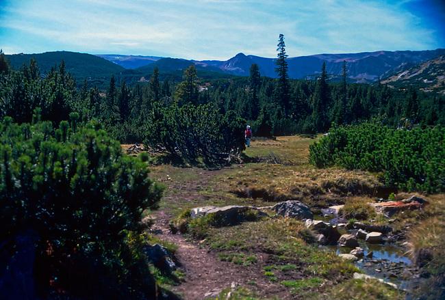 On the Trail to Seven Lakes, Rila Mountains