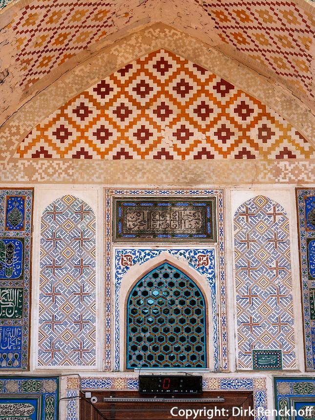 Bolo-Hovuz Moschee, Buchara, Usbekistan, Asien, UNESCO-Weltkulturerbe<br /> Bolo Hovuz Mosque, Historic City of Bukhara, Uzbekistan, Asia, UNESCO Heritage Site