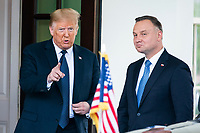 Trump and Polish President Duda hold joint press conference at White House