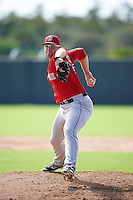 Boston Red Sox pitcher Michael Shawaryn (83) during an Instructional League game against the Minnesota Twins on September 24, 2016 at CenturyLink Sports Complex in Fort Myers, Florida.  (Mike Janes/Four Seam Images)