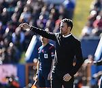 FC Barcelona's coach Luis Enrique   during La Liga match. February 7, 2016. (ALTERPHOTOS/Javier Comos)
