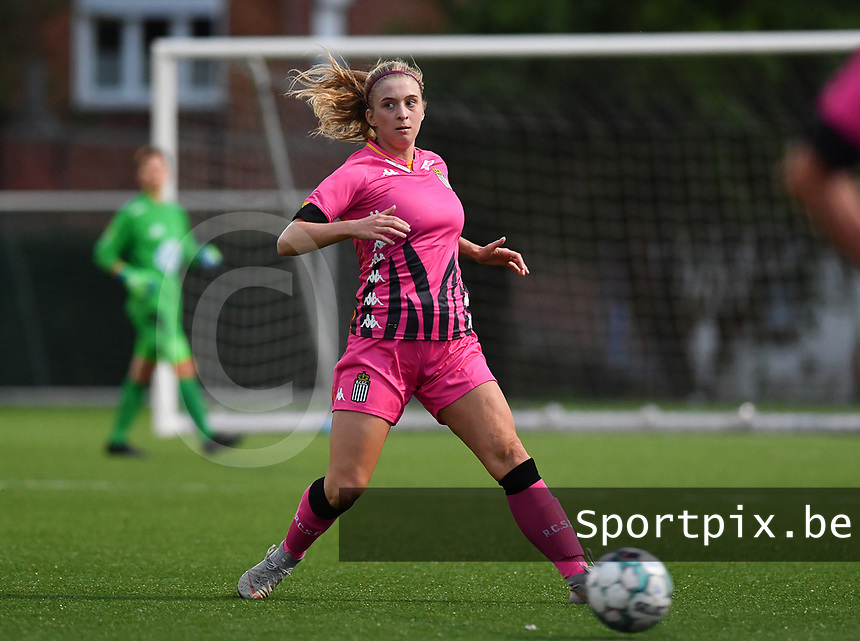 midfielder Ludmila Matavkova of Sporting Charleroi pictured during a female soccer game between Sporting Charleroi and FC Femina White Star Woluwe on the second matchday of the 2020 - 2021 season of Belgian Scooore Women s SuperLeague , friday 4 th of September 2020  in Marcinelle , Belgium . PHOTO SPORTPIX.BE | SPP | DAVID CATRY