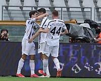 Torino 03-04-2021<br /> Stadio Grande torino<br /> Serie A  Tim 2020/21<br /> Torino - Juventus<br /> Nella foto:  chiesa esultanza                                 <br /> Antonio Saia Kines Milano