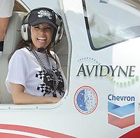 MIAMI, FL - APRIL 30:  Eva Longoria participates in a Rally for Kids with Cancer Scavenger Cup Pit Stop on April 30, 2011 in Miami, Florida<br /> <br /> <br /> People:  Eva Longoria
