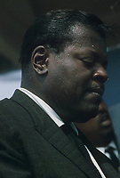 Oscar Peterson at The Newport Jazz Festival (c.1960)