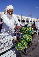Sanao, Oman.  Unloading Sidr Fruits to be Sold in the Market.