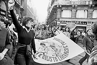 - women's demonstration (Milan, 1977)<br />