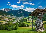 Italien, Suedtirol, Dolomiten, St. Ulrich im Groednertal | Italy, South Tyrol (Trentino - Alto Adige), Dolomites, Ortisei at Val Gardena