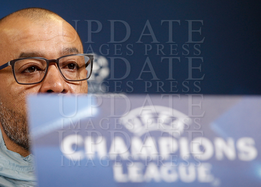 Porto's coach Nuno Espirito Santo attends a press conference ahead of the Champions League round of 16 second leg soccer match against Juventus, in Turin, 13 March 2017.<br /> UPDATE IMAGES PRESS/Isabella Bonotto
