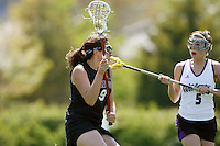 20 June 2006: Jessica Verrilli during Stanford's 17-9 loss to Northwestern in the first round of the 2006 NCAA Lacrosse Championships in Evanston, IL. Stanford made it to the NCAA's for the first time in school history.