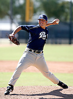 Zachary Herr / San Diego Padres 2008 Instructional League..Photo by:  Bill Mitchell/Four Seam Images