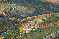 aerial of Cuchara, Colorado