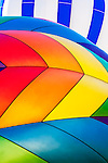 Abstract of colorful hot air balloons