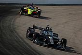 #10: Felix Rosenqvist, Chip Ganassi Racing Honda, #18: Santino Ferrucci, Dale Coyne Racing with Vasser Sullivan Honda
