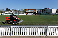 General view of the pitch being prepared ahead of Day Four of Worcestershire CCC vs Essex CCC, LV Insurance County Championship Group 1 Cricket at New Road on 2nd May 2021
