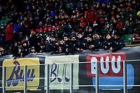 Young supporters near banners against Racism . <br /> Milano 19-1-2019 Giuseppe Meazza stadium Football Serie A 2018/2019 Inter - Sassuolo <br /> Foto Image Sport / Insidefoto