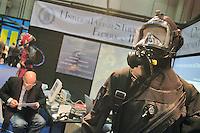 - SMAU, international exibition of electronics, computer and technological innovation, university of Naples, equipment for deep underwater immersion..- SMAU, salone internazionale dell'elettronica, informatica e innovazione tecnologica, università di Napoli, equipaggiamento per l'immersione subacquea profonda