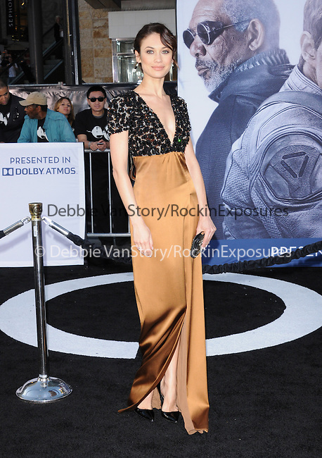 Olga Kurylenko at Universal Pictures American Premiere of Oblivion held at The DolbyTheater in Hollywood, California on April 10,2013                                                                   Copyright 2013 Hollywood Press Agency