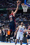 Bayern Munich´s player Djedovic during the 4th match of the Turkish Airlines Euroleague at Barclaycard Center in Madrid, Spain, November 05, 2015. <br /> (ALTERPHOTOS/BorjaB.Hojas)
