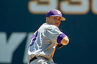 University of Washington Huskies Lucas Knowles (29) prior to the game against the Cal State Fullerton Titans at Goodwin Field on June 08, 2018 in Fullerton, California. The University of Washington Huskies defeated the Cal State Fullerton Titans 8-5. (Donn Parris/Four Seam Images)