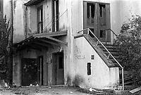 Abandoned sanitarium, 1987.   &#xA;<br />