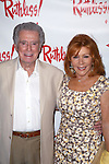 """Regis Philbin and Joy Philbin attends the Opening Night performance of  """"Ruthless! The Musical"""" at the St. Luke's Theatre on July 13, 2015 in New York City."""