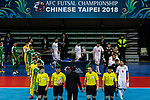 Lebanon vs Iraq during the AFC Futsal Championship Chinese Taipei 2018 Quarter Finals match at University of Taipei Gymnasium on 08 February 2018, in Taipei, Taiwan. Photo by Yu Chun Christopher Wong / Power Sport Images
