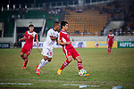 Laos vs Timor-Leste during their AFF Suzuki Cup 2014 qualifier match at New Laos National Stadium on 18 October 2014, in Vientiane, Laos. Photo by Stringer / Lagardere Sports