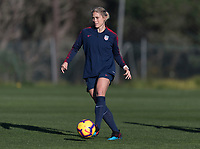 Faro, Portugal - January 11, 2019:  The USWNT trains during their January Camp in Portugal.