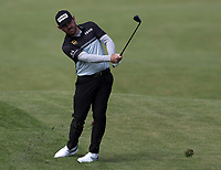 15th July 2021; Royal St Georges Golf Club, Sandwich, Kent, England; The Open Championship, PGA Tour, European Tour Golf ,First Round ; Louis Oosthuizen (RSA) plays a pitch to the green on the 2nd hole