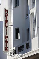 Afrique/Afrique du Nord/Maroc/Rabat: Hotel de la Paix rue Ghazza - Style Art Déco