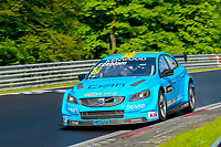 Race of Germany Nürburgring Nordschleife 2016 Free training 2 WTCC 2016 #61 TC1 Polestar Cyan Racing. Volvo S60  WTCC Fredrik Ekblom (SWE) © 2016 Musson/PSP. All Rights Reserved.