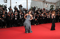 Araya A Hargate .Cannes 22/5/2013 .66mo Festival del Cinema di Cannes 2013 .Foto Panoramic / Insidefoto .ITALY ONLY