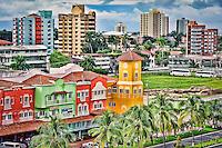 Colon city in Panama