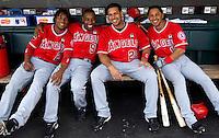 SAN FRANCISCO - JUNE 17:  Los Angeles Angels vs. San Francisco Giants in San Francisco on June 17, 2009. Photo by Brad Mangin
