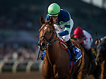 ARCADIA, CA - DECEMBER 26: Giant Expectation #3 with Gary Stevens aboard takes the San Antonio GII Stakes at Santa Anita Park on December 26, 2017 in Arcadia, California. (Photo by Alex Evers/Eclipse Sportswire/Getty Images)