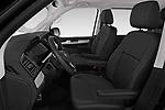 Front seat view of a 2019 Volkswagen Caravelle Highline 4 Door Passenger Van front seat car photos