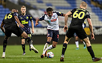 Bolton Wanderers' Jamie Mascoll breaks<br /> <br /> Photographer Andrew Kearns/CameraSport<br /> <br /> EFL Papa John's Trophy - Northern Section - Group C - Bolton Wanderers v Newcastle United U21 - Tuesday 17th November 2020 - University of Bolton Stadium - Bolton<br />  <br /> World Copyright © 2020 CameraSport. All rights reserved. 43 Linden Ave. Countesthorpe. Leicester. England. LE8 5PG - Tel: +44 (0) 116 277 4147 - admin@camerasport.com - www.camerasport.com