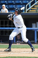 Staten Island Yankees infielder John Murphy (36) during game against the Connecticut Tigers at Richmond County Bank Ballpark at St.George on July 7, 2013 in Staten Island, NY.  Staten Island defeated Connecticut 6-2.  (Tomasso DeRosa/Four Seam Images)