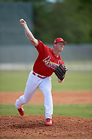 St. Louis Cardinals Landon Beck (23) during a minor league Spring Training game against the New York Mets on March 28, 2017 at the Roger Dean Stadium Complex in Jupiter, Florida.  (Mike Janes/Four Seam Images)